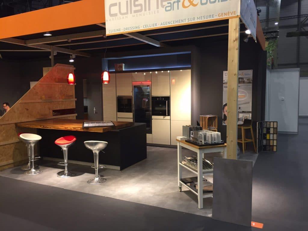 cuisine et cellier stand les automnales 2016 cuisine art et bois gen ve. Black Bedroom Furniture Sets. Home Design Ideas
